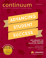 cover of continuum 2017 magazine